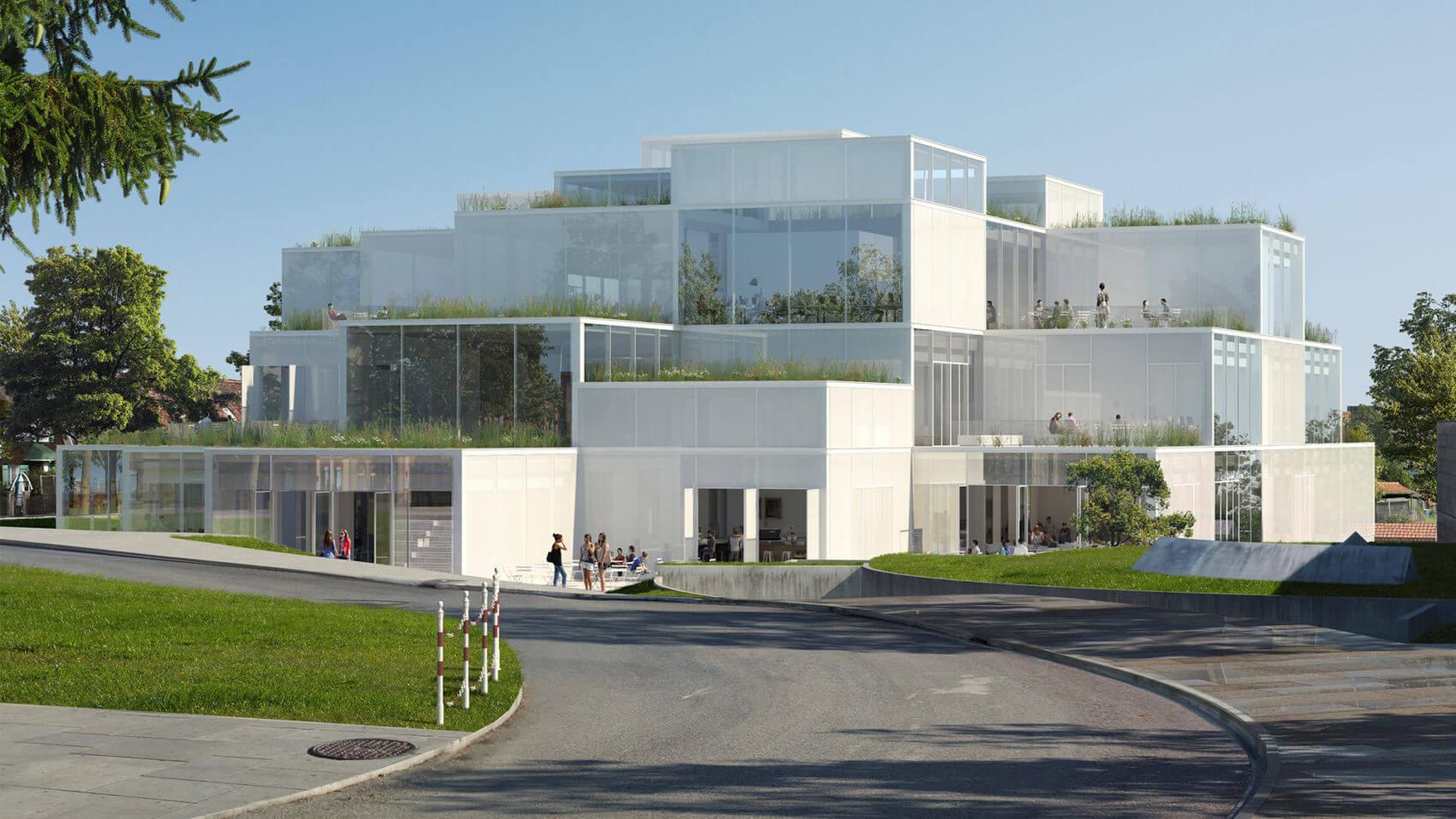 Университет в Санкт-Галлене, Швейцария, от Со Фудзимото