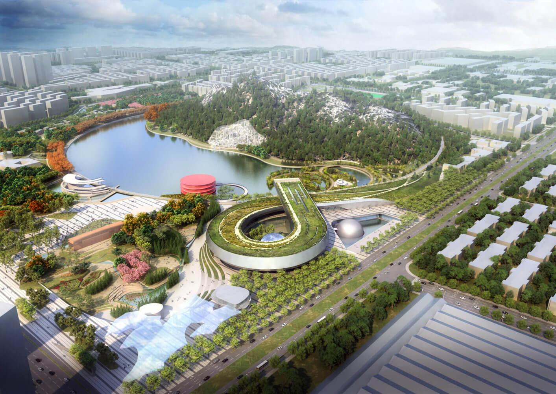 Научно-технологический музей в Китае от Perkins+Will