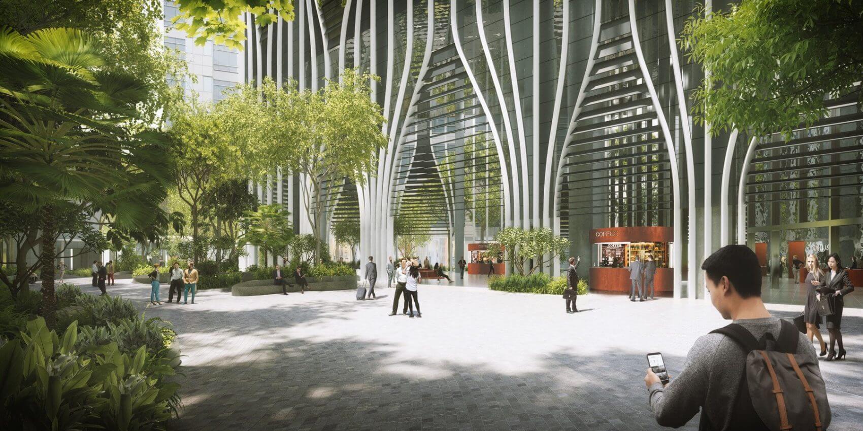 Небоскрёб в Сингапуре от BIG и CRA