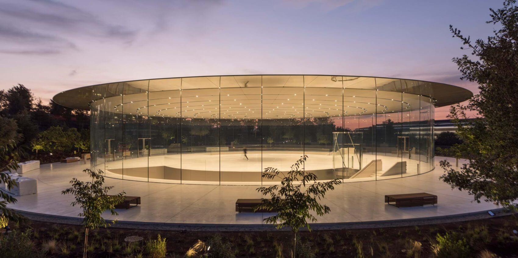 Театр Стива Джобса от Foster Partners