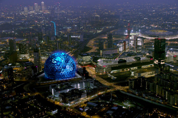 MSG_Sphere_London_-_Exterior