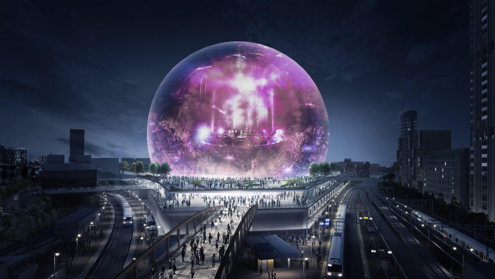 MSG Sphere от Madison Square Garden