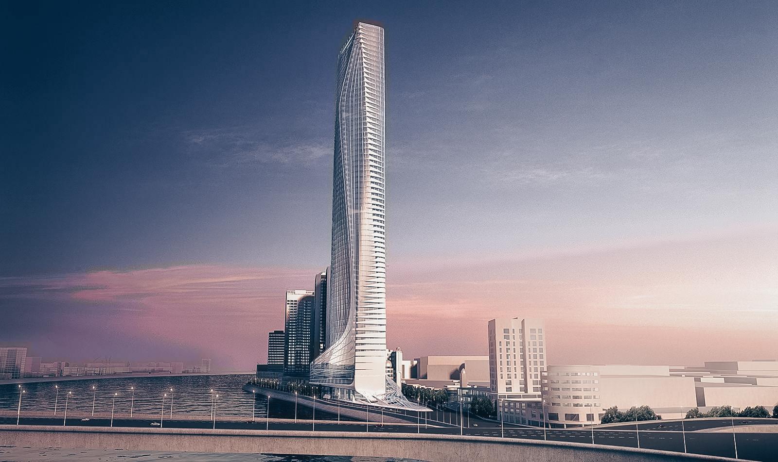 Nile Tower — самый высокий небоскрёб в Африке от Zaha Hadid