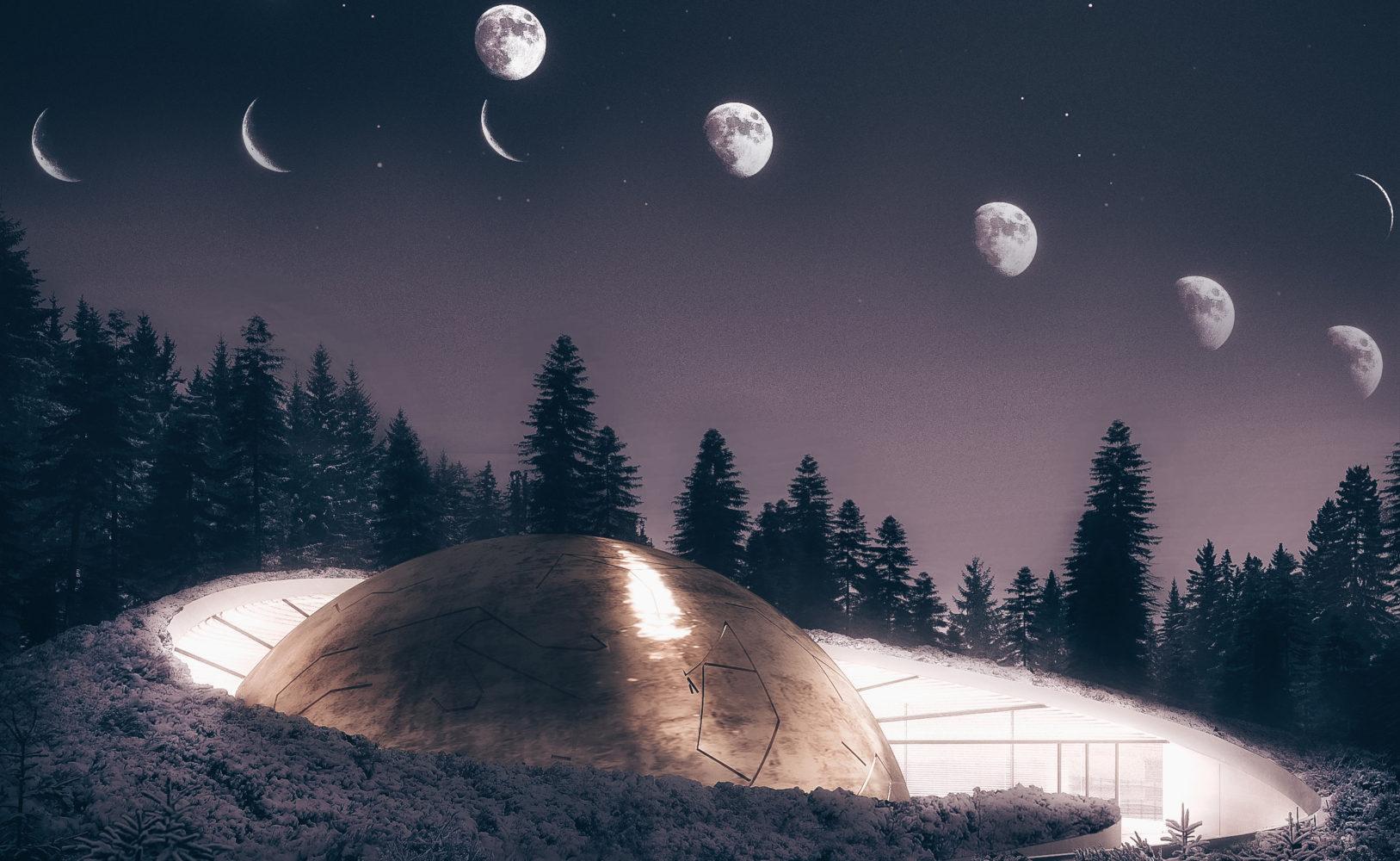 Solobservatoriet — планетарий в Норвегии от Snohetta