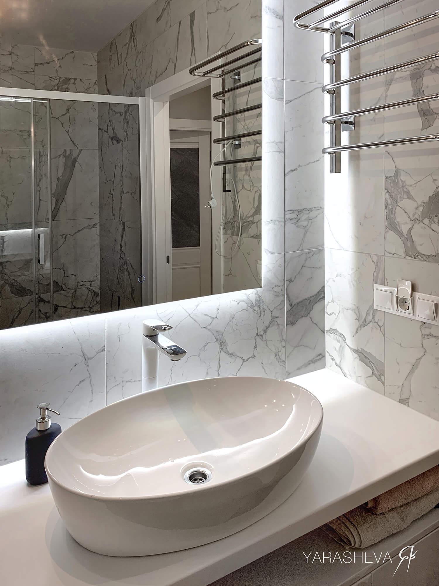 дизайн ванной