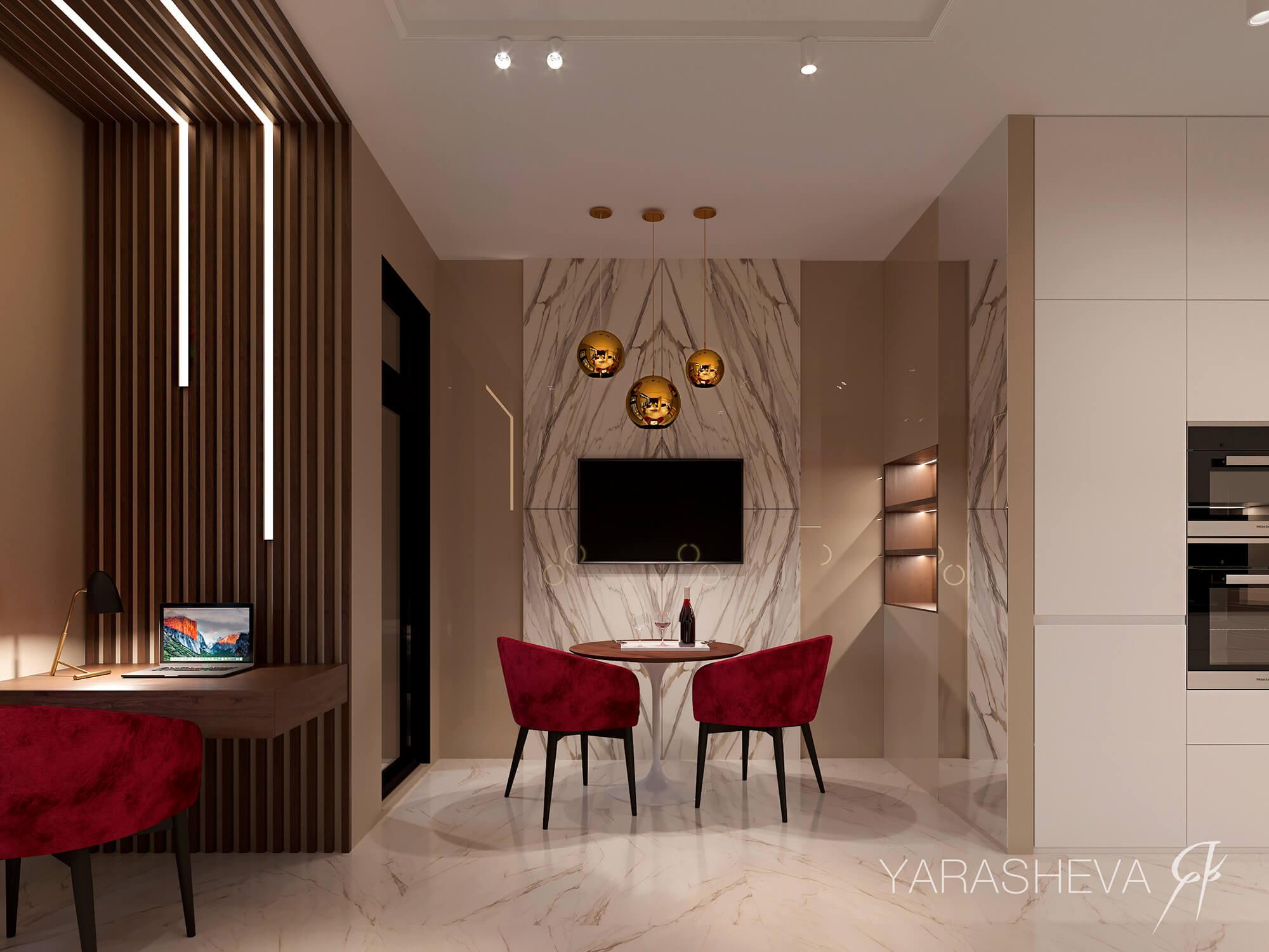 дизайн интерьера в ЖК Царская площадь